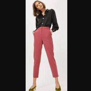 Topshop High Waist Cigarette Trousers